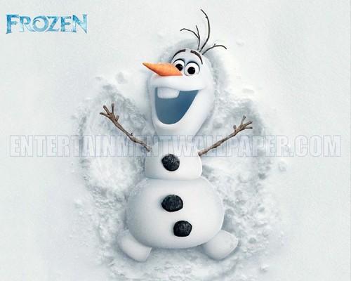Olaf Wallpaper   Frozen Wallpaper 37370222 500x400