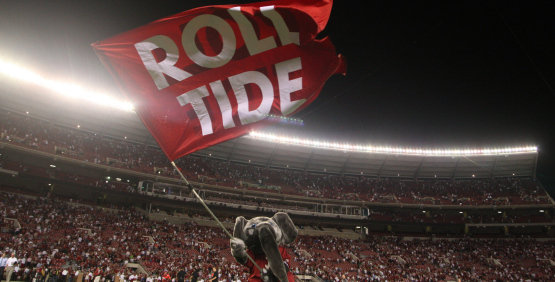 Alabama Crimson Tide Football Wallpaper Travels To Columbia 555x282