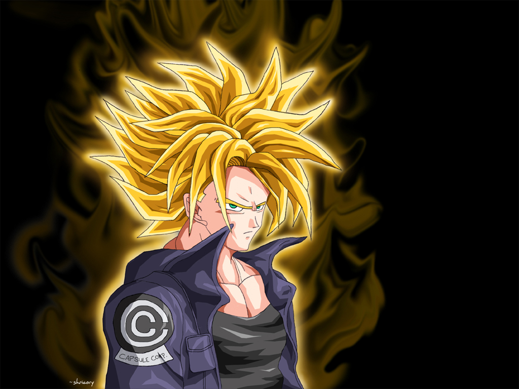 97 Trunks Super Saiyan Wallpapers On Wallpapersafari