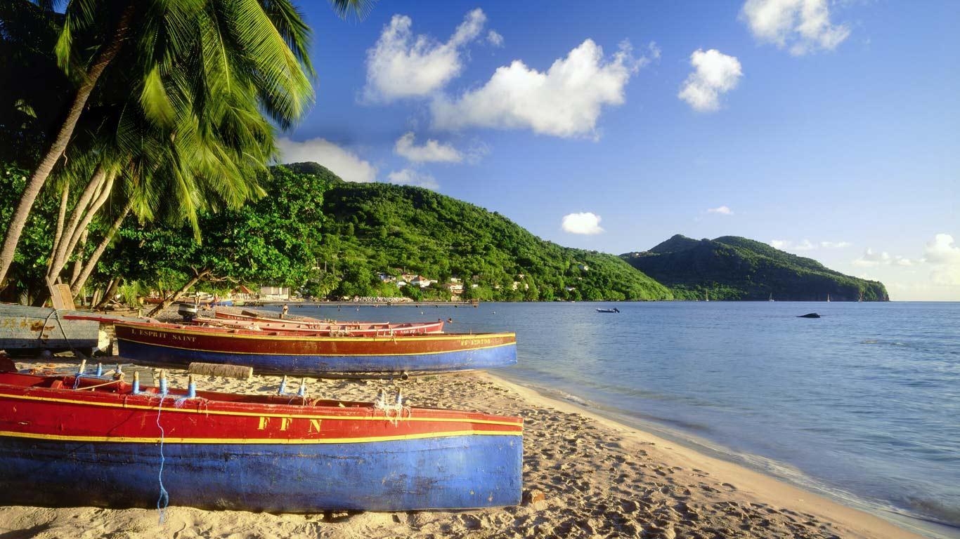 Fonds dcran Martinique tous les wallpapers Martinique 1366x768