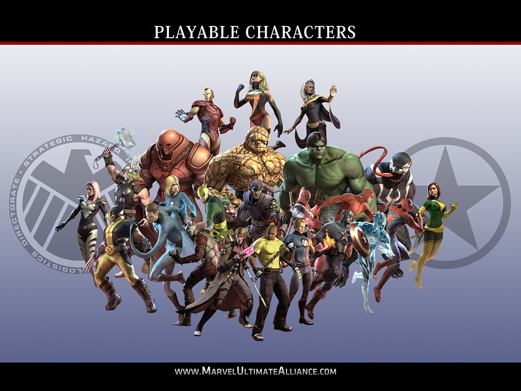 Marvel Ultimate Alliance 2 Wallpaper - WallpaperSafari