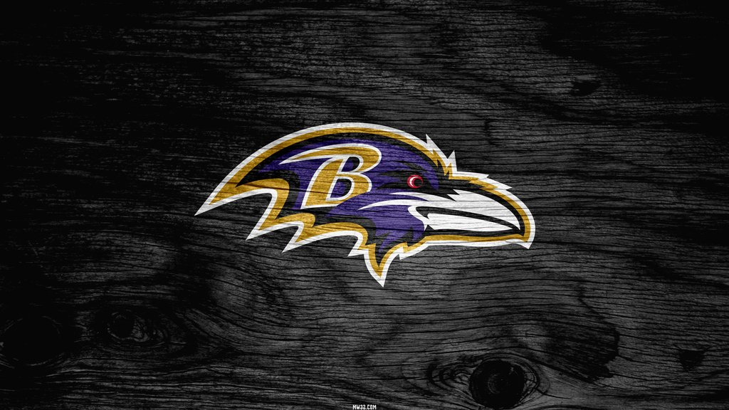 Baltimore Ravens Grey Weathered Wood Wallpaper for HTC One X 1024x576