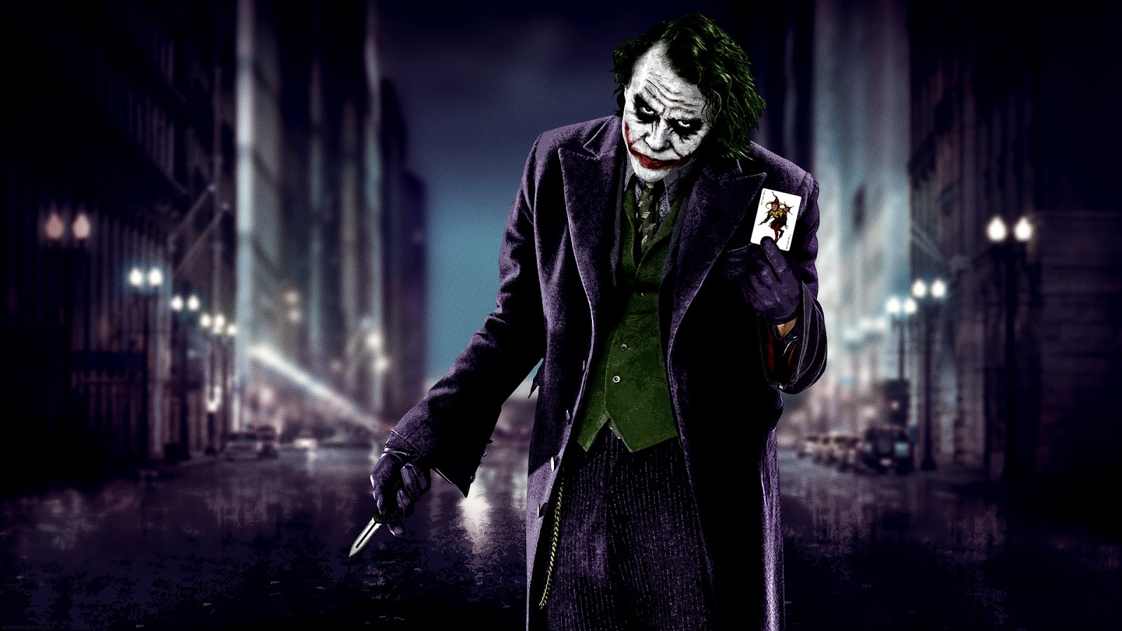 Heath Ledger Fan Club Joker   Heath Ledger Wallpapers 1600x900