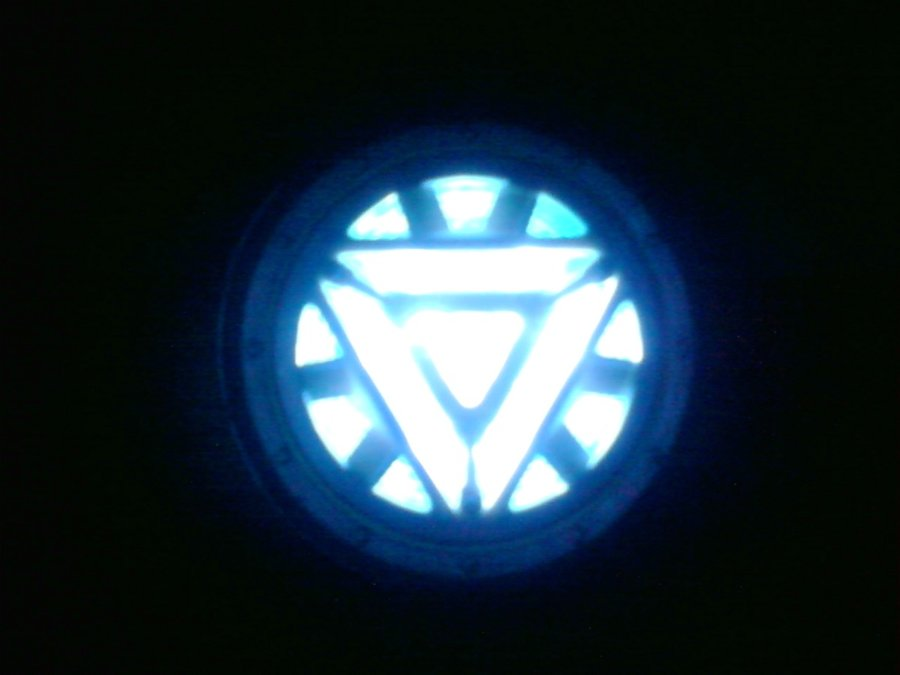 Arc Reactor Wallpaper Modded arc reactor at night by 900x675