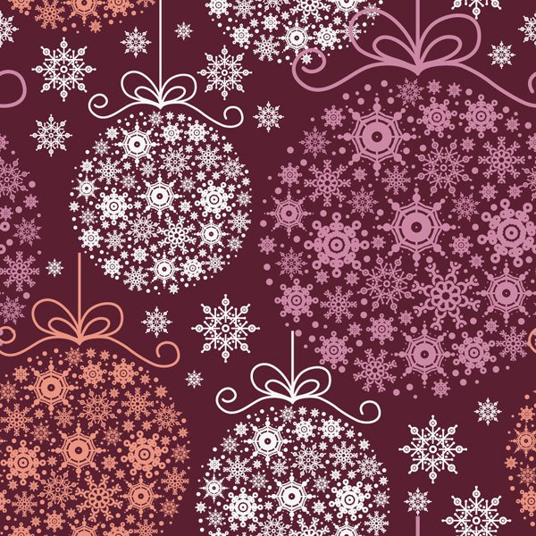 Christmas Pattern by Como Yo Dsg 600x600