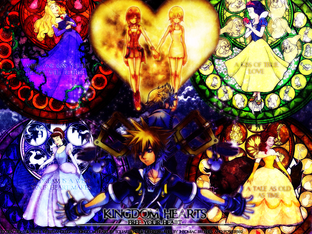 Enjoy this Kingdom Hearts 2 background Kingdom Hearts 2 wallpapers 1024x768