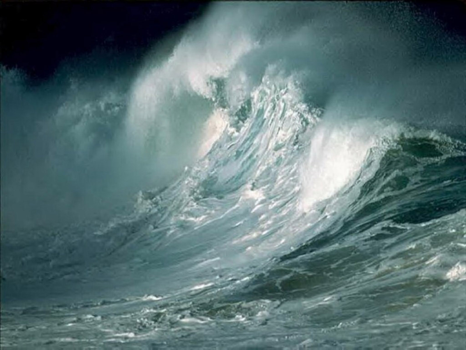 wallpapers Storm Waves Wallpapers 1600x1200