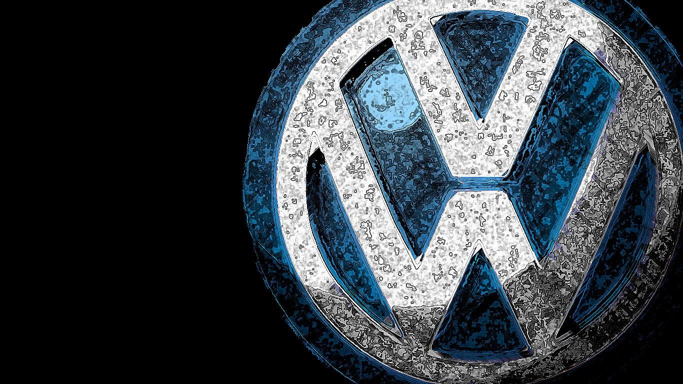 Download Volkswagen Wallpaper HD Logo 13563 Wallpaper 1366x768