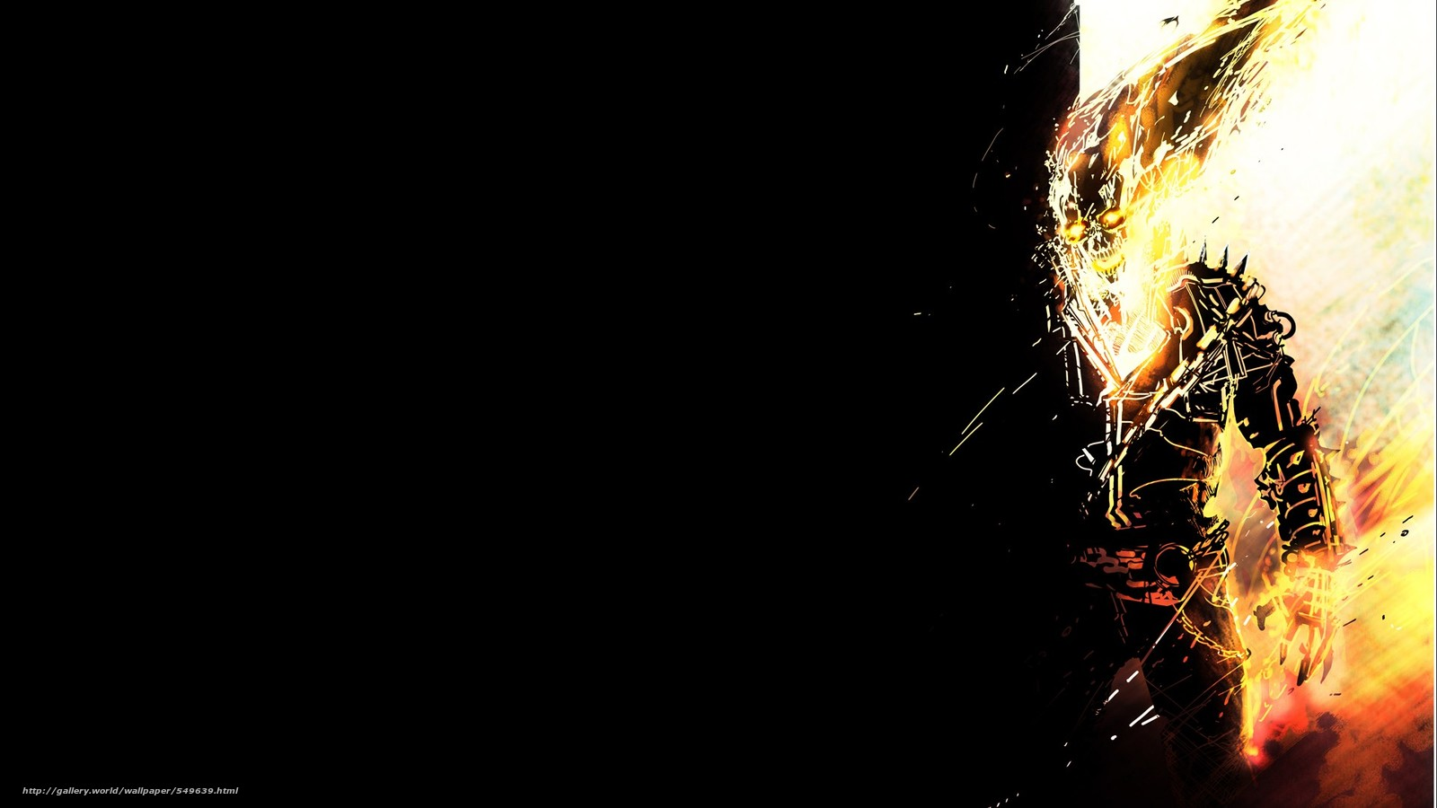 wallpaper art Ghost Rider infernal Ghostly desktop wallpaper 1600x900