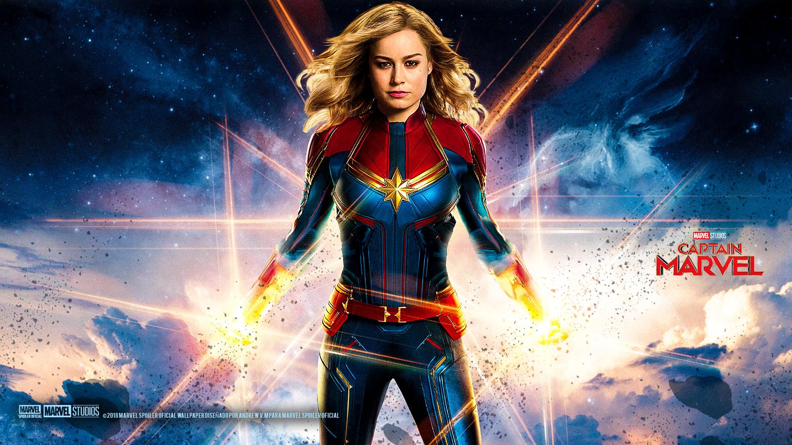 [29+] Captain Marvel Wallpapers on WallpaperSafari