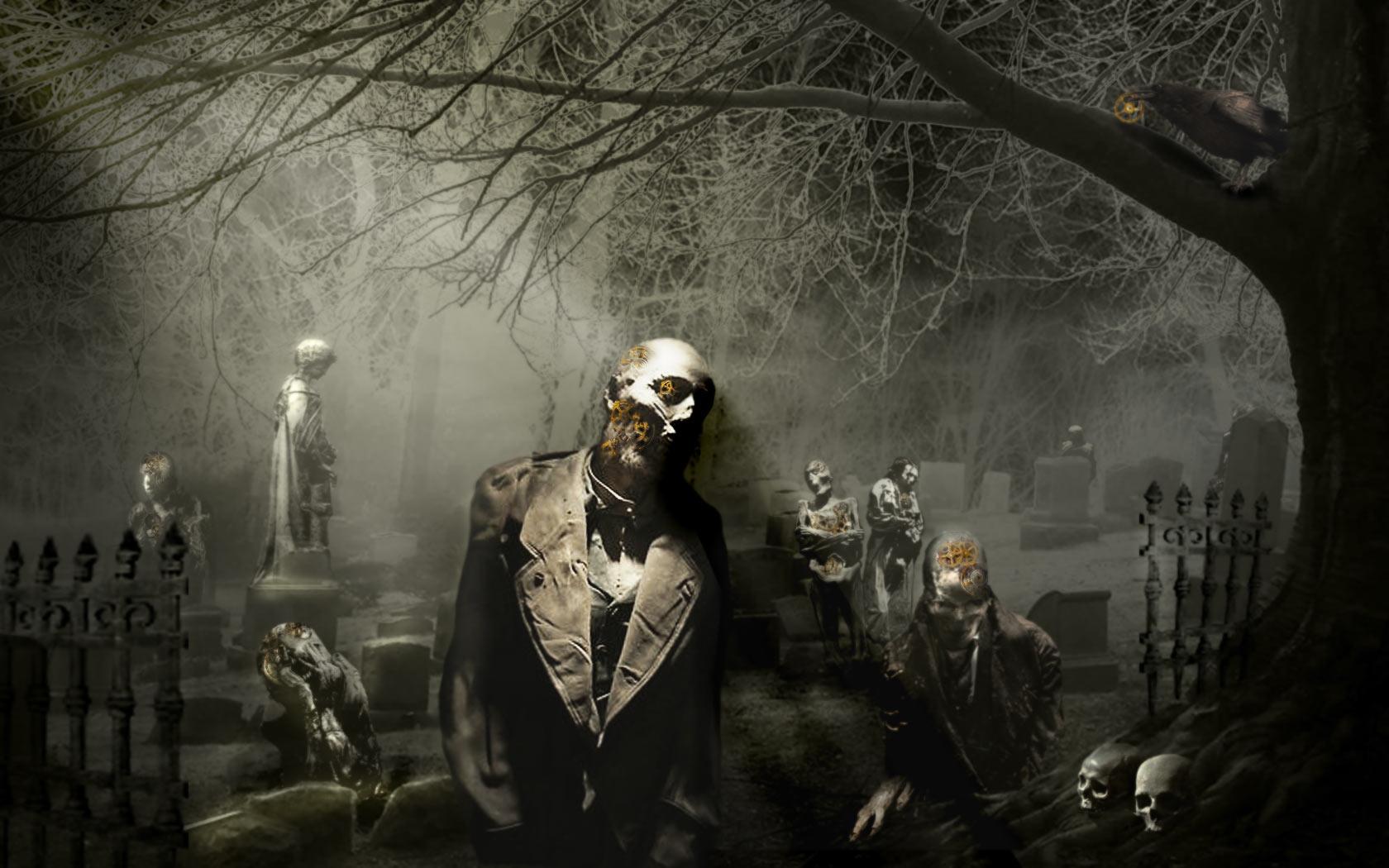Fuentes de Informacin   Wallpapers de Zombies [HD] 1680x1050