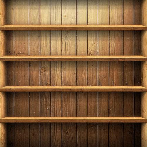 Bookshelf Wallpaper Background Bookcase ipad wallpaper 500x500