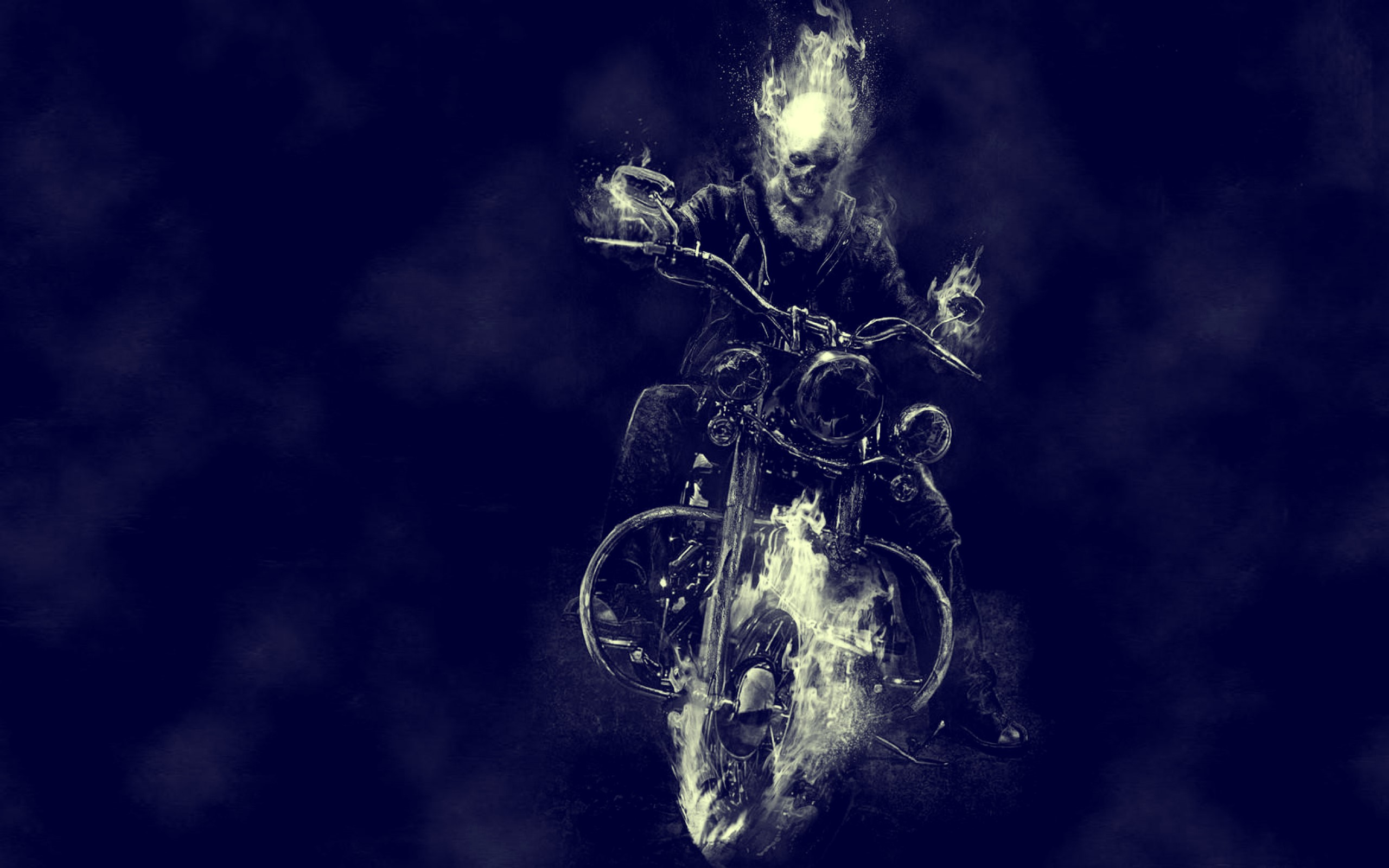 Ghost Rider Movie Bike Motorcycle Skull wallpaper Best HD Wallpapers 2560x1600