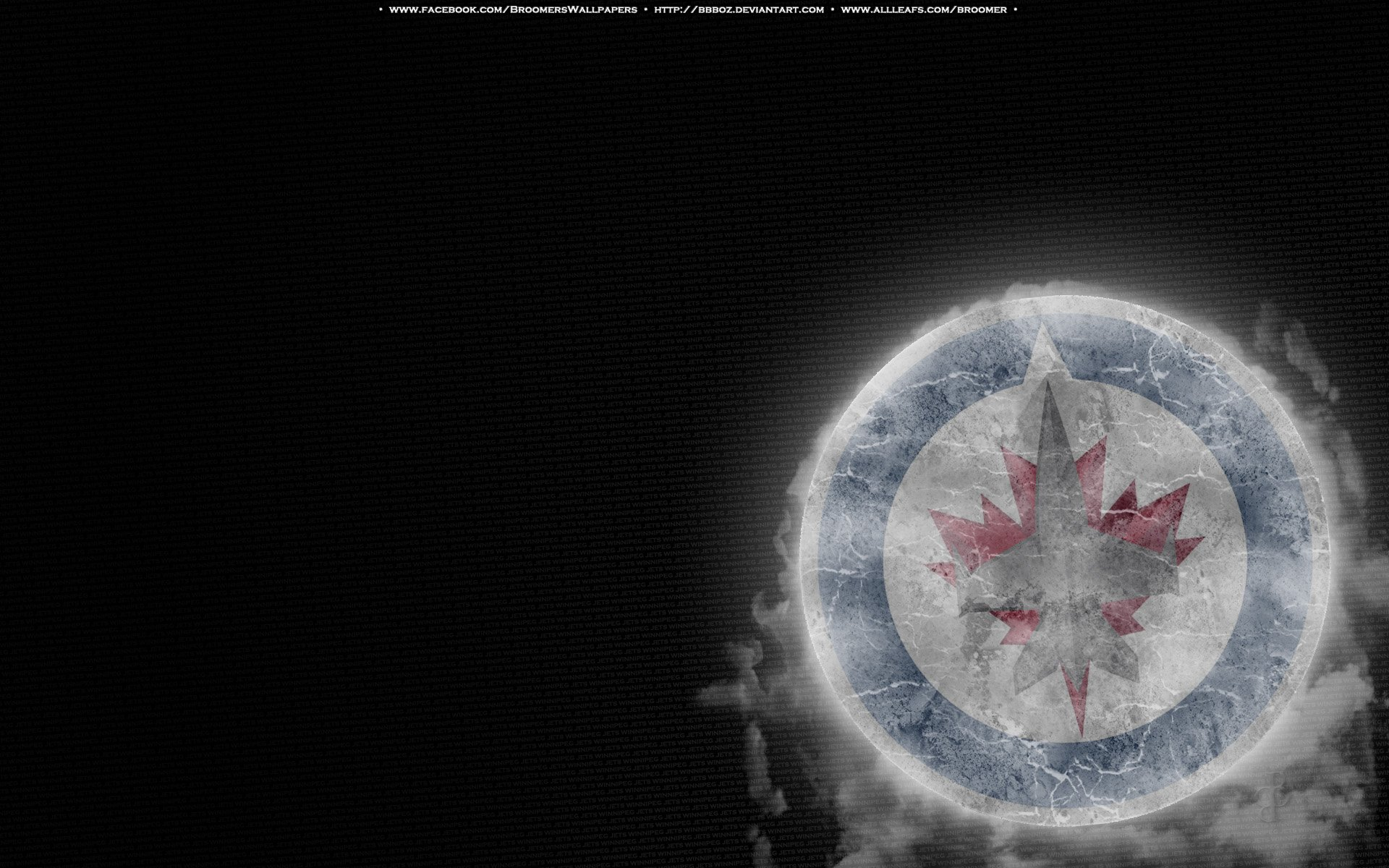 winnipeg jets 11 ice by bbboz fan art wallpaper other 2011 2015 bbboz 1920x1200