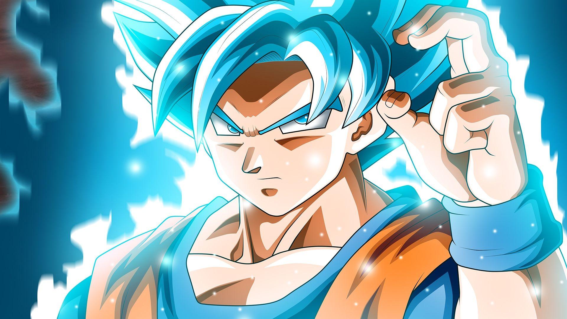 Son Goku Super Saiyan Blue Wallpapers Phone For Wallpaper 1920x1080