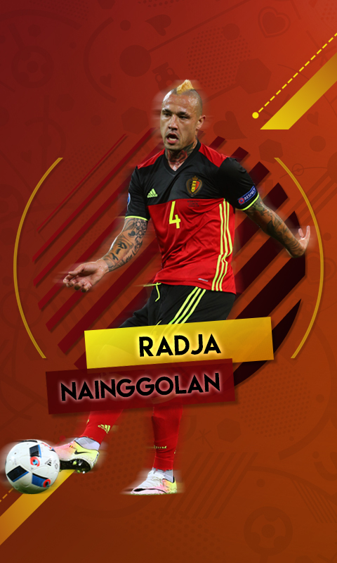 Radja Nainggolan by AdrianDOPE 480x800