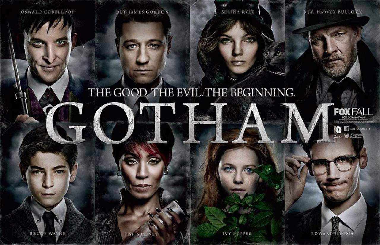Gotham TV Series 4K Wallpaper The Big Photos 1280x828