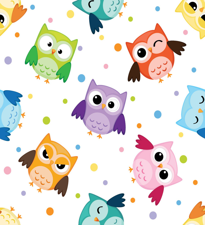 tree owl wall decal