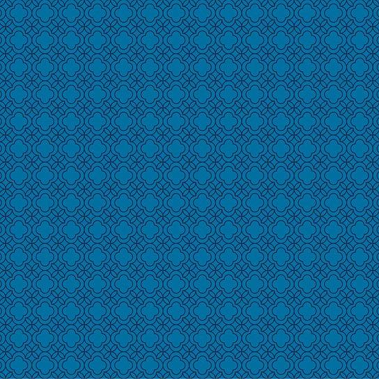 Buy Quatrefoil BlueBlack Removable WallPaper by WallCandy Arts on 544x544