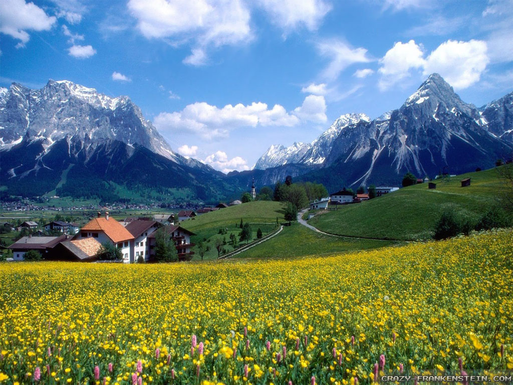 Mountain Springs Hotel Office Manager Mail: Spring In The Mountains Wallpaper