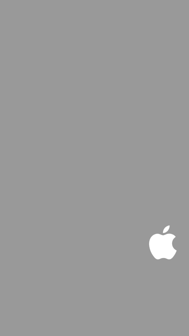 iPhone 5 5S 5C Apple Logo Wallpaper by SimpleWallpapers 640x1136
