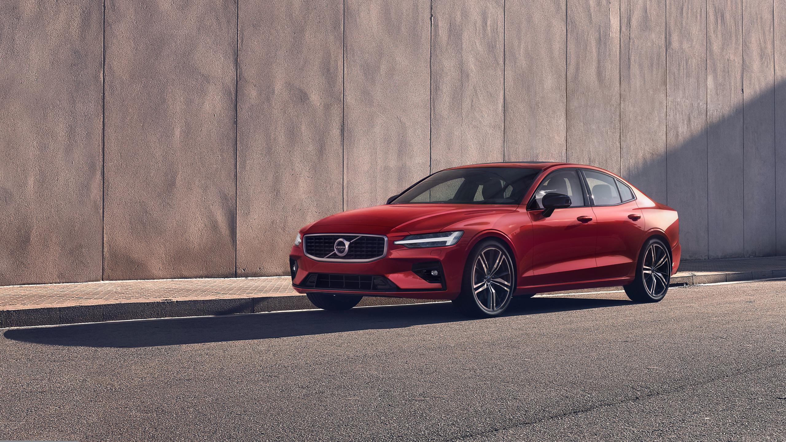Volvo S60 T6 R Design 2018 Wallpaper HD Car Wallpapers ID 10690 2560x1440