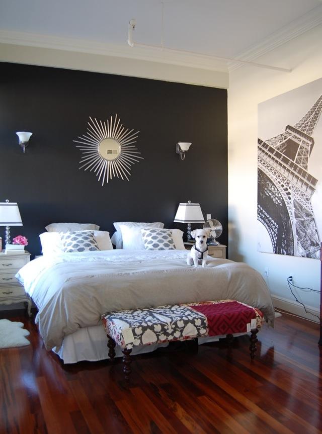Black Wallpaper Accent Wall Wallpapersafari