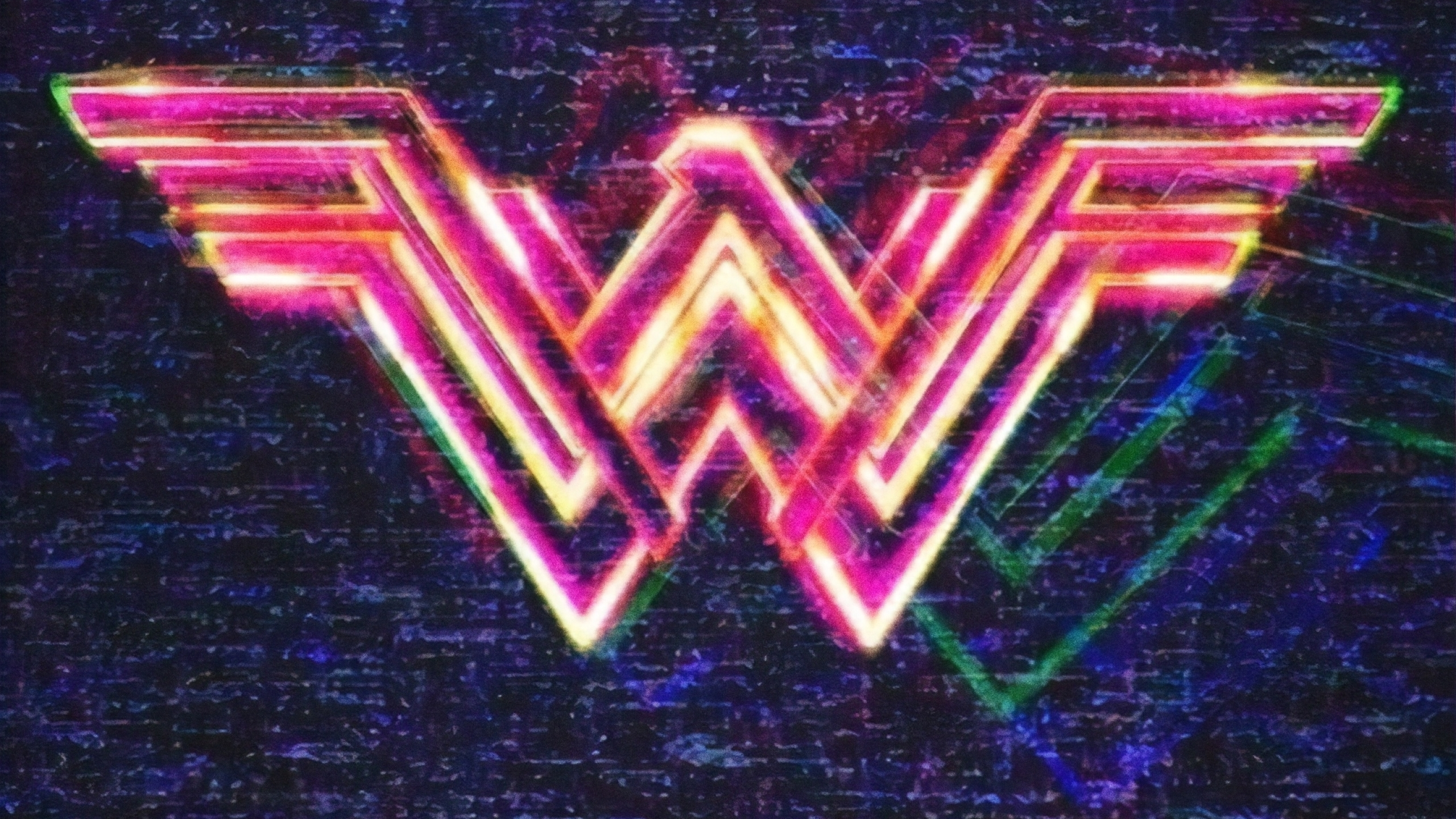 2560x1440 Wonder Woman 1984 Poster 1440P Resolution Wallpaper HD 2560x1440