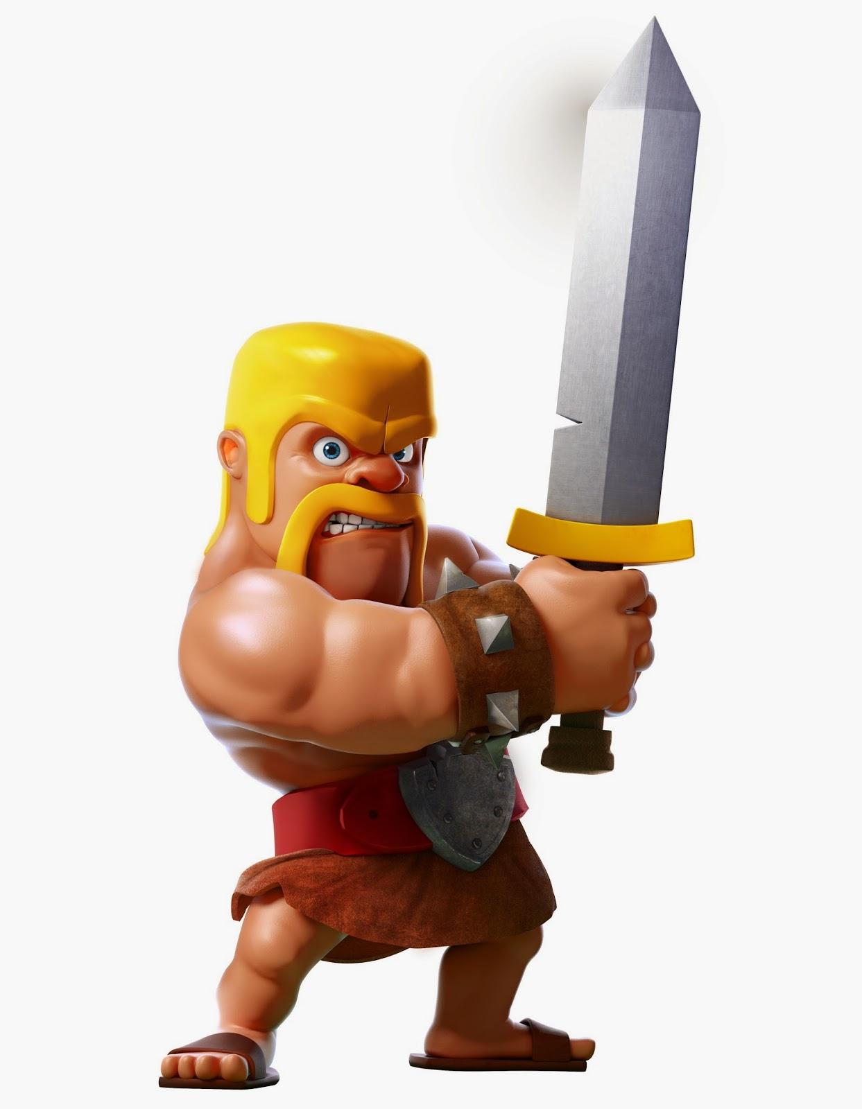 Clash of Clans Barbarian Clash of Clans Wallpaper 1243x1600