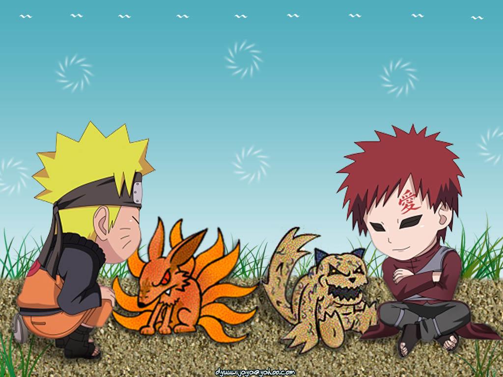 Naruto Chibi Shippuden Gaara Wallpaper 1024x768 Full HD Wallpapers 1024x768