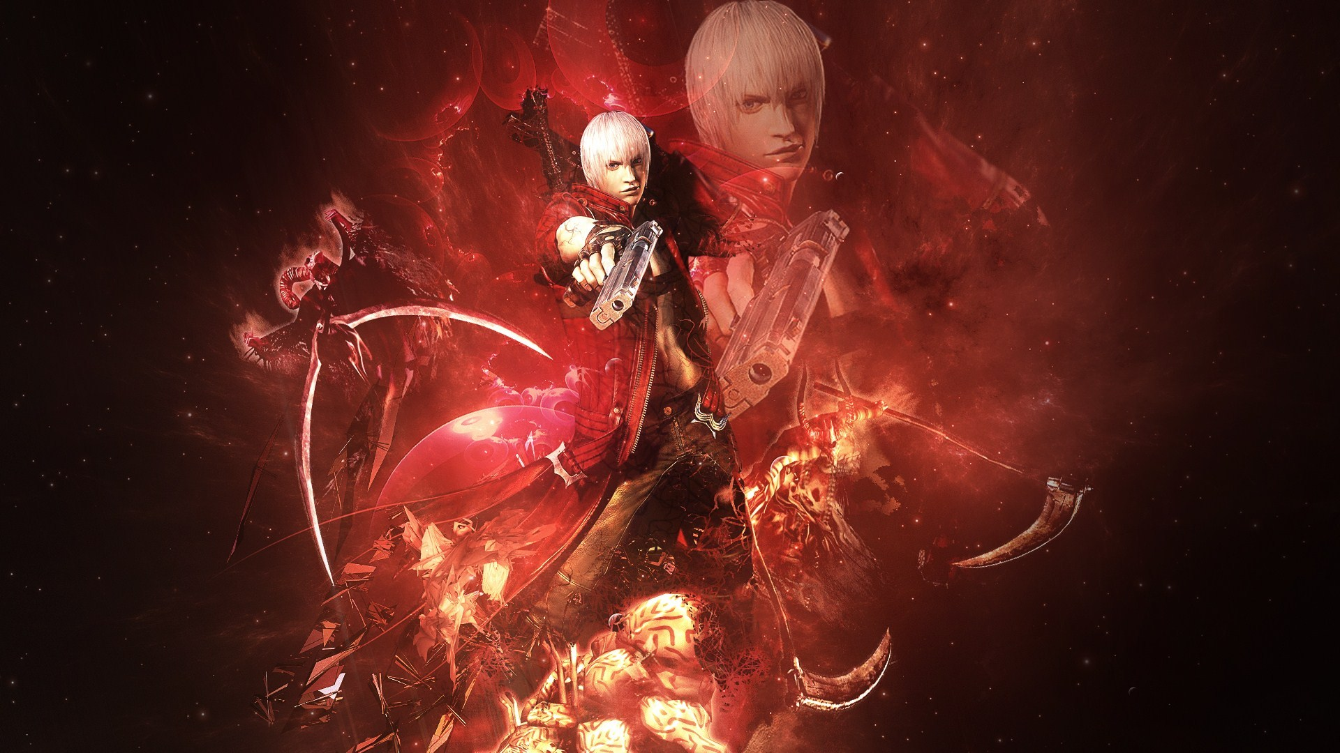 Devil May Cry Red wallpapers Devil May Cry Red stock photos 1920x1080