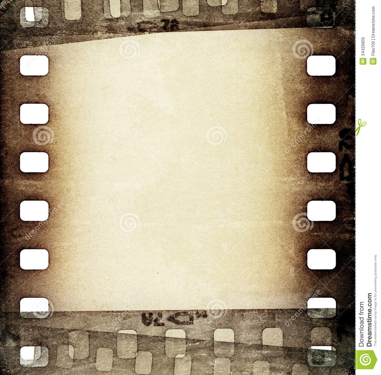 Grunge Film Strip Backgrounds 1319x1300