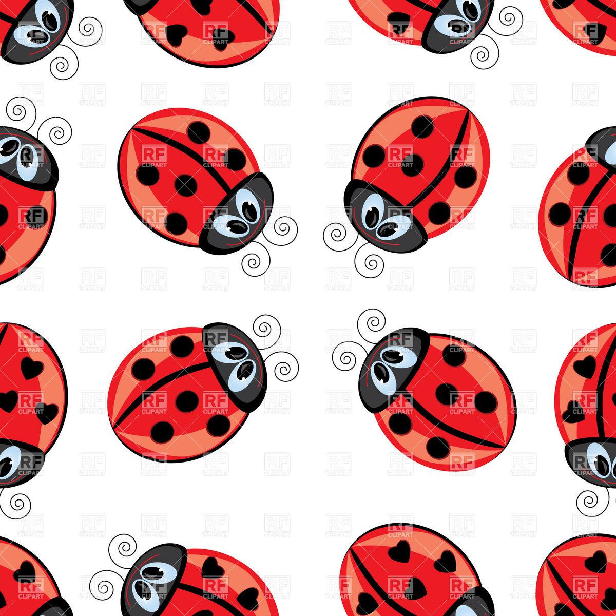 Cartoon Ladybug Wallpaper