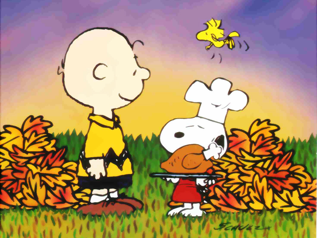 Snoopy Thanksgiving Wallpaper Peanuts Snoopy Thanksgiving Computer 1024x768