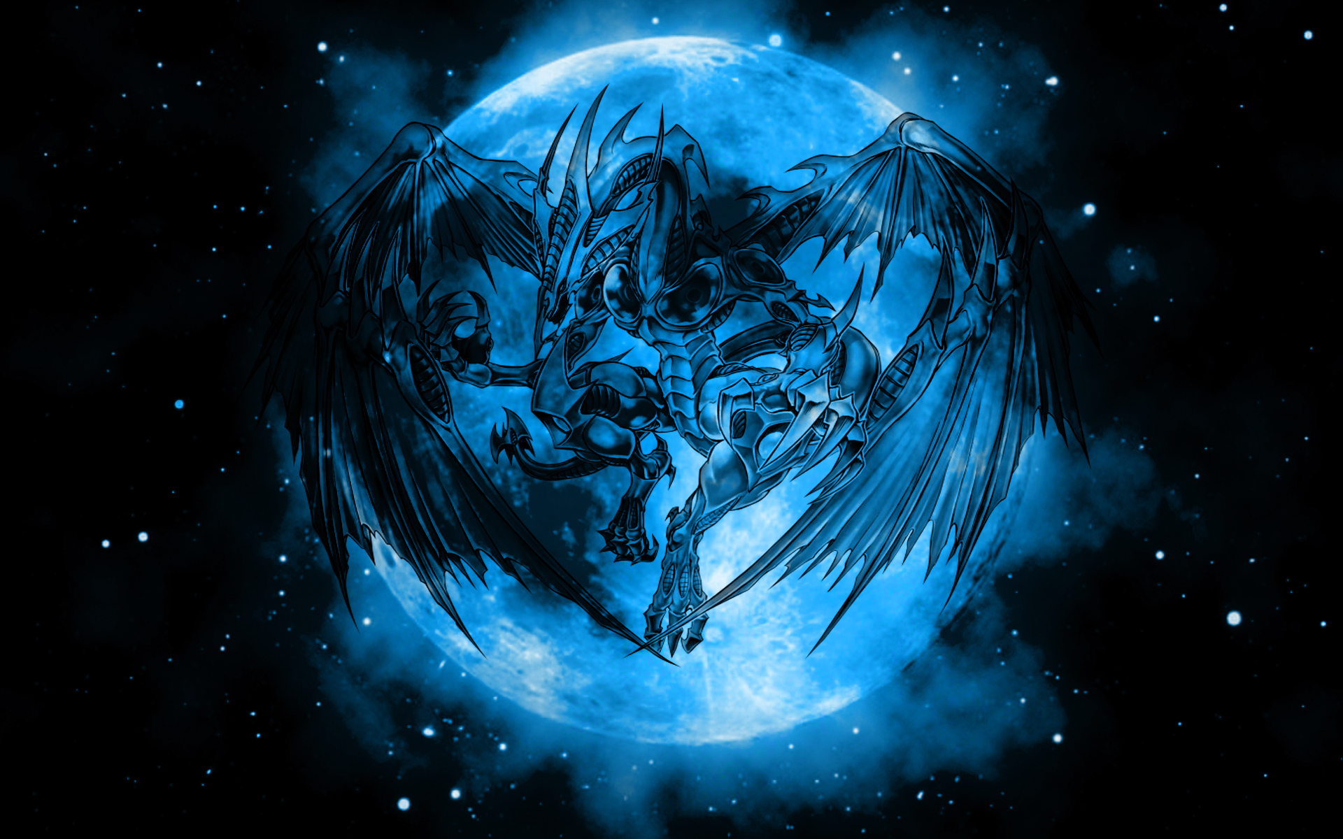 drawings 2010 2015 alexeiyuri hd wallpaper of stardust dragon from 1920x1200