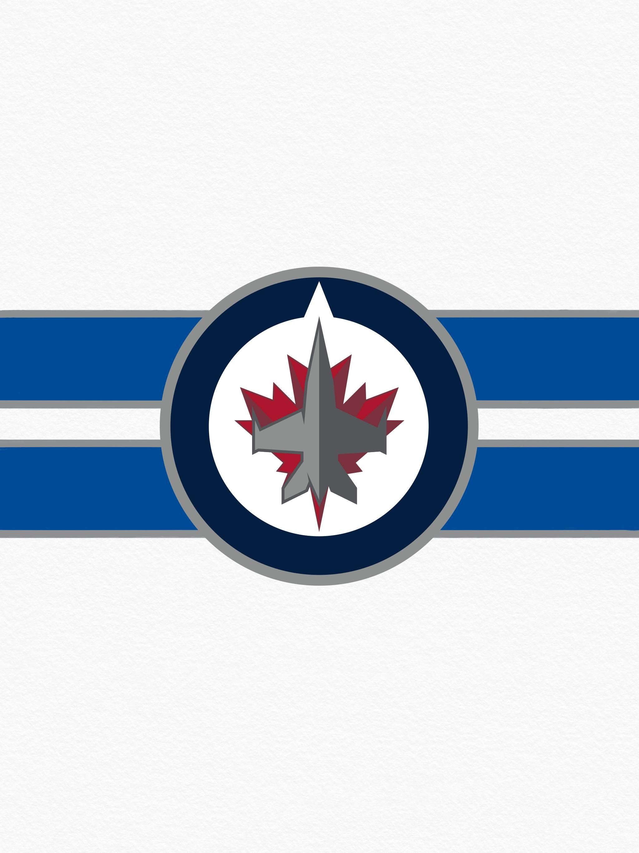 Made a whiteout wallpaper figured Id share it GO JETS GO 2048x2732