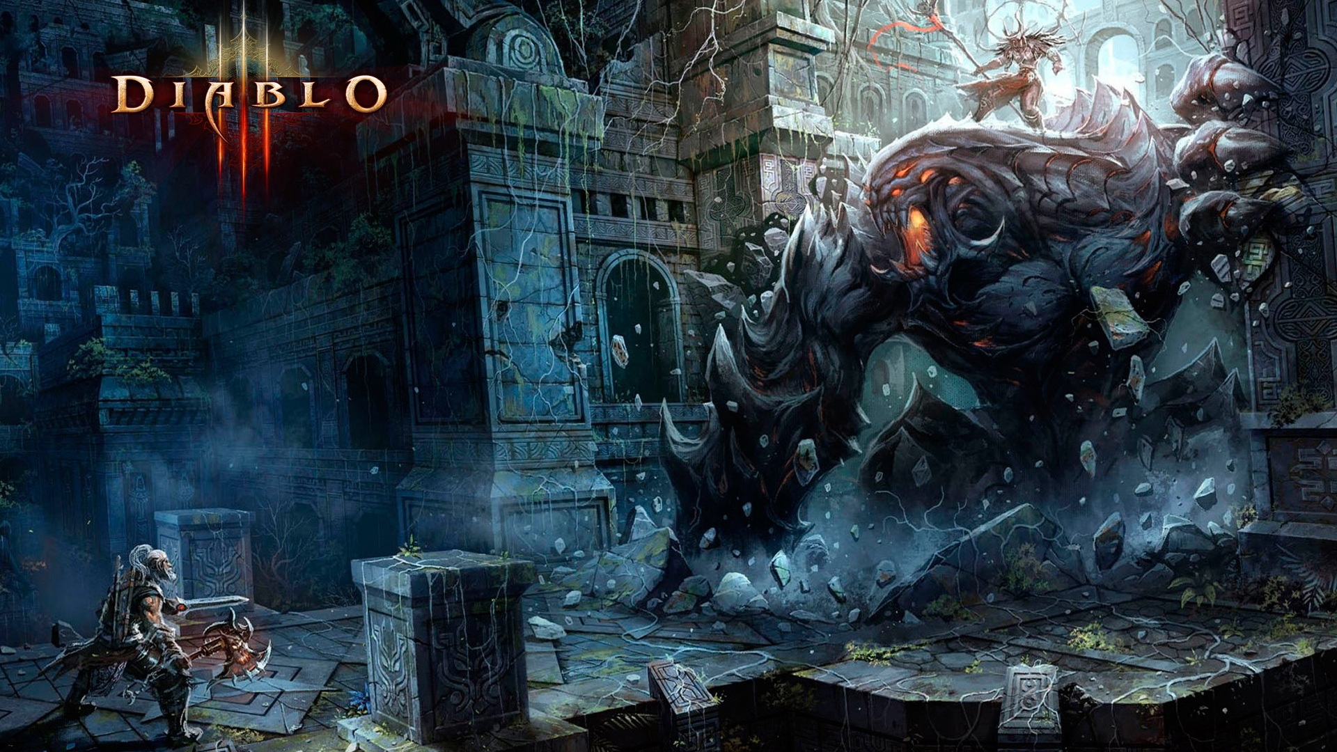 Barbarian Fight Diablo 3   High Definition Wallpapers   HD wallpapers 1920x1080