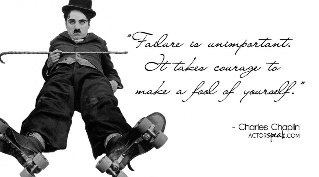 WALLPAPER Charlie Chaplin Quote On Acting With Photo ActorSpeakcom 1038x576