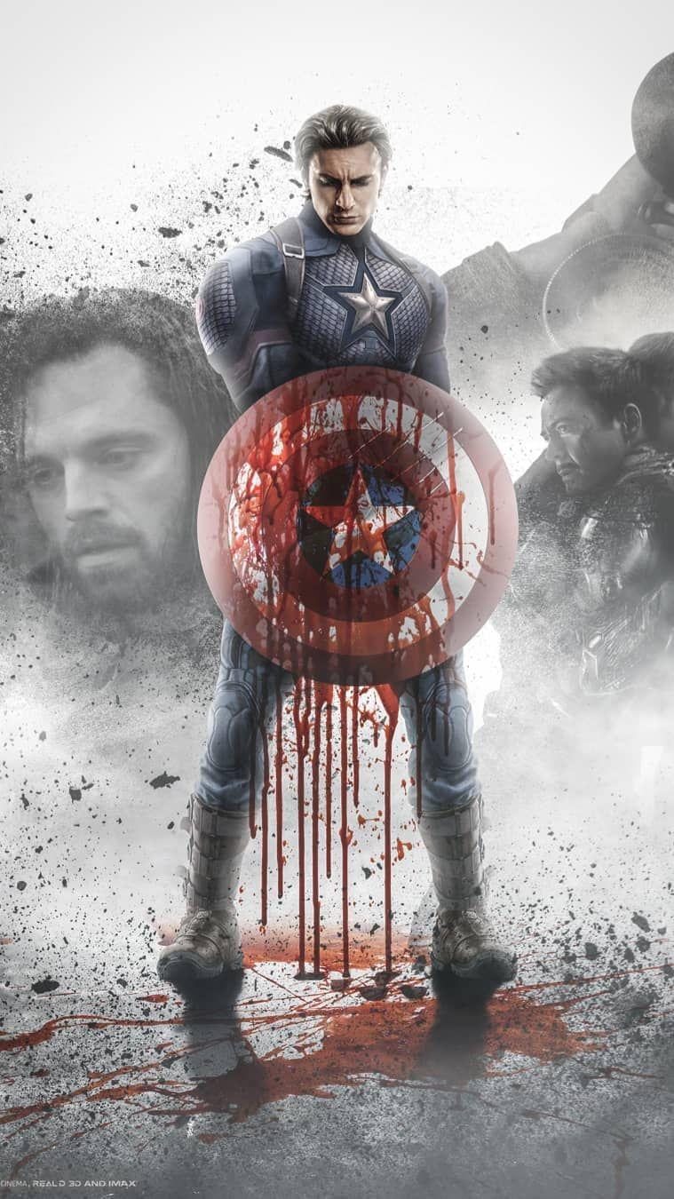 Free Download Captain America Avengers Endgame Fan Art Iphone