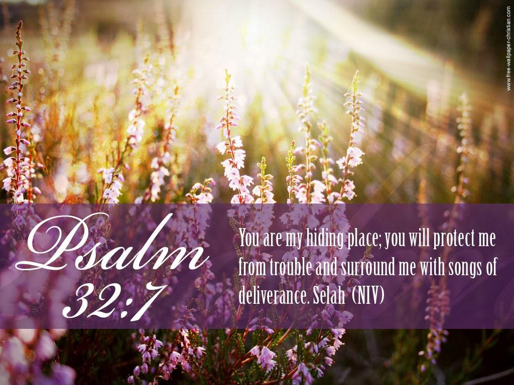 Desktop Psalm Bible Verse Wallpaper 1024x768
