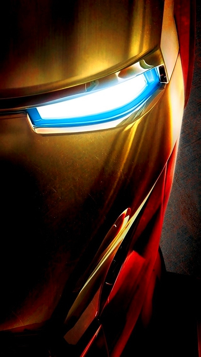 Iron Man Face iPhone 5 Wallpaper 640x1136 640x1136