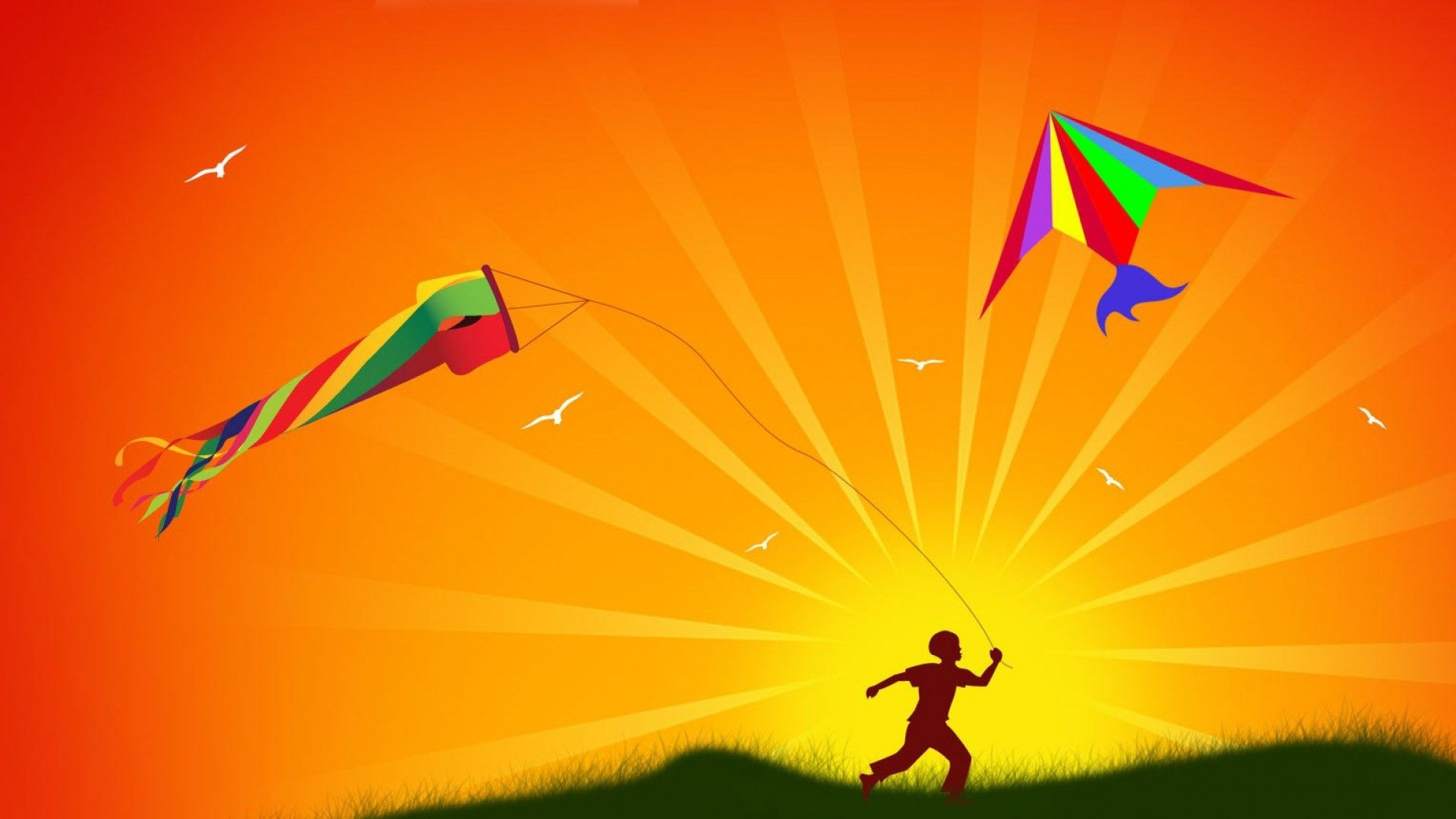 Kite Flying wallpaper with HD Quality kiteFlying kiteHD kite 1920x1080