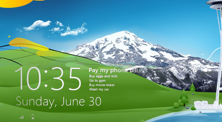 Microsoft Confirms Lock Screen Background Bug in Windows 81 Preview 728x400