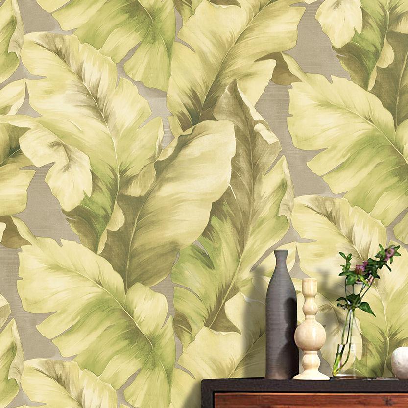 Roll Sand Beach Style Banana Leaf Leaves Wallpaper SE56035 eBay 833x833