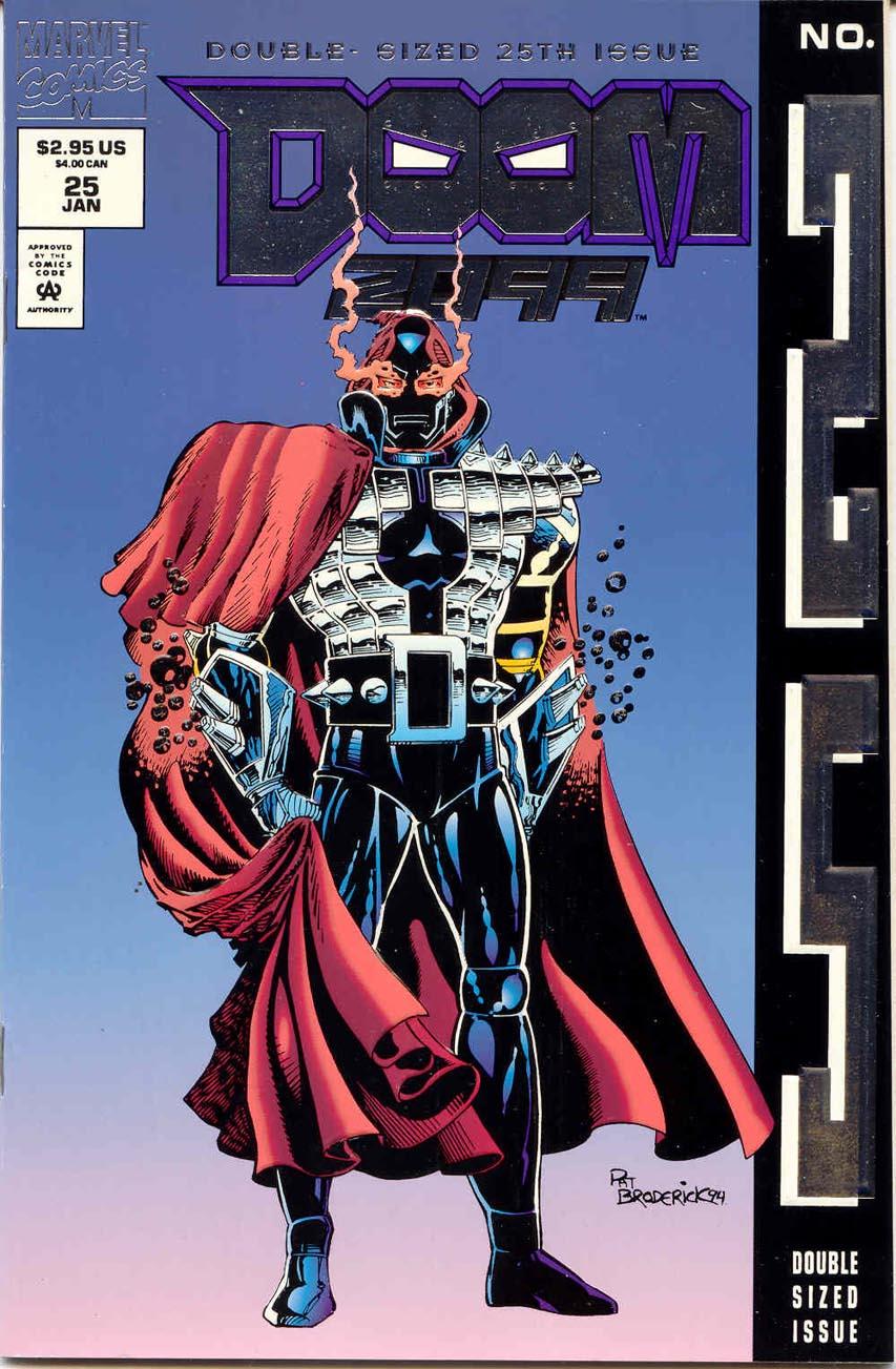 Doom 2099 Vol 1 25 Marvel Database FANDOM powered by Wikia 853x1303