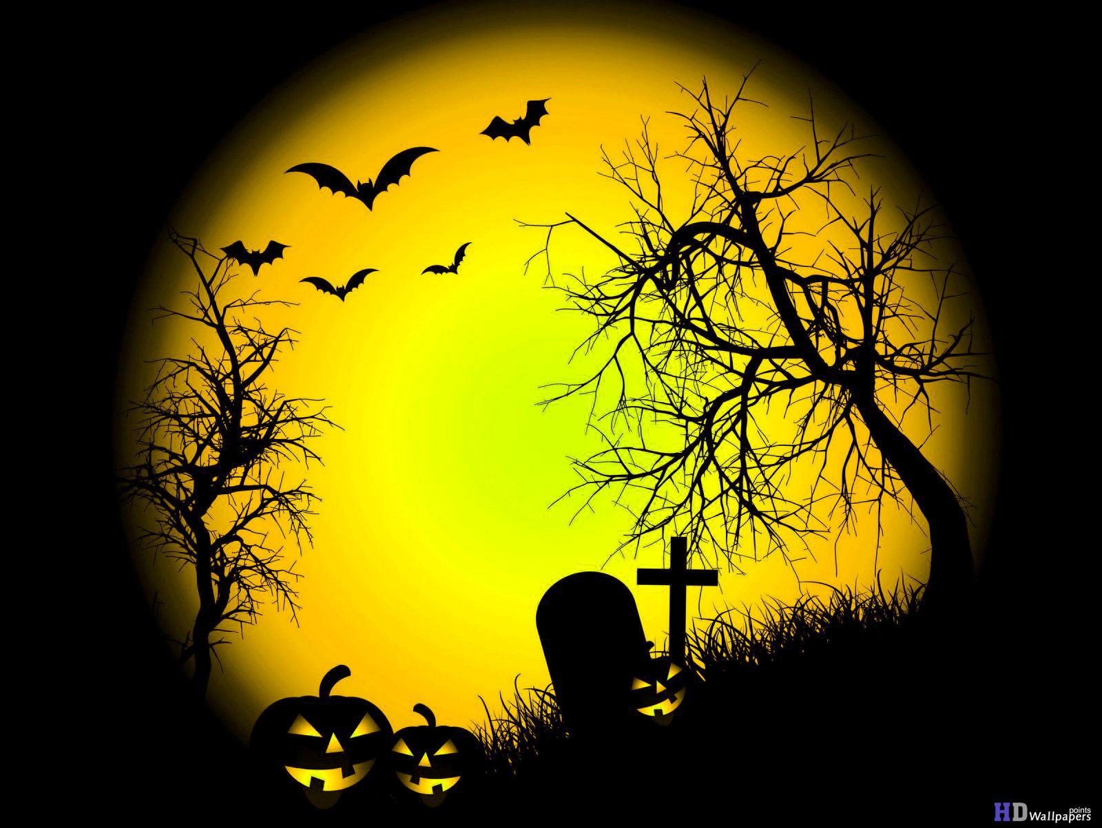Halloween Desktop Background HD Wallpaper 1600x1203