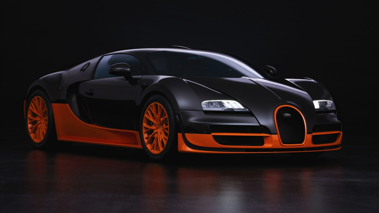HD Wallpapers BUGATTI VEYRON HD WALLPAPERS 1280x720