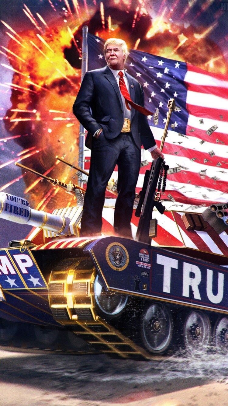 12] Donald Trump 2020 Wallpapers on WallpaperSafari 750x1334