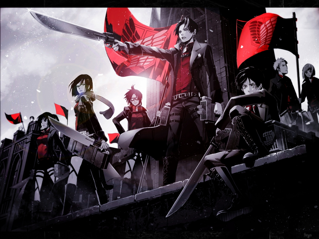 titans red shingeki no - photo #21