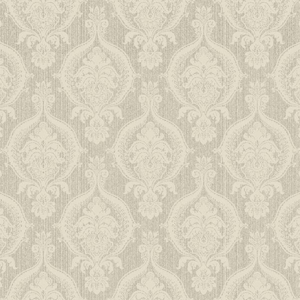 Grey and cream wallpaper wallpapersafari for Grey and cream wallpaper